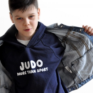 BLUZA JUDO /  More than Sport / deep blue